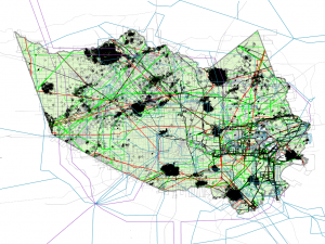 Harris County - Pipelines & Cultural data